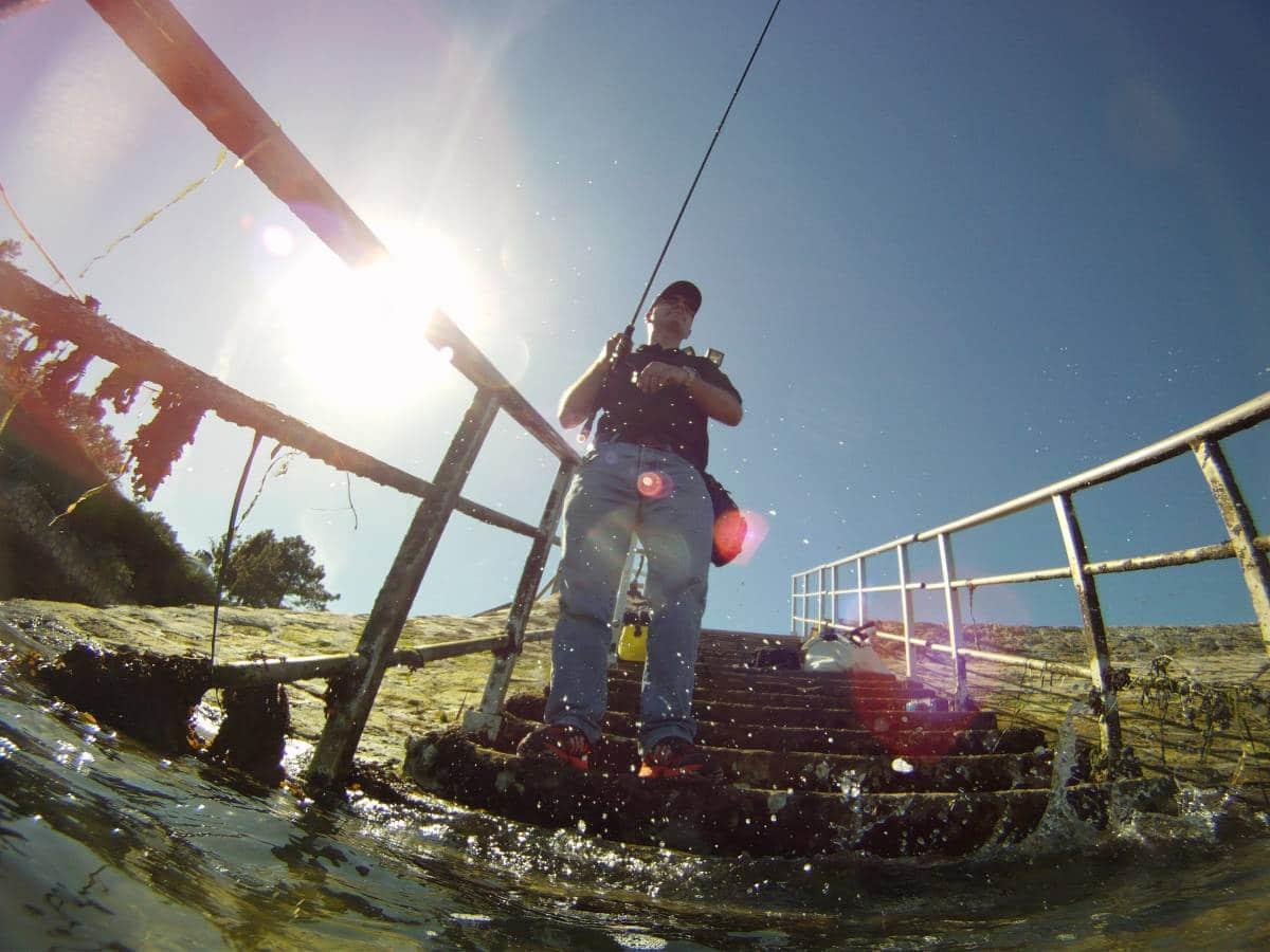pêche au bassin d'Arcachon