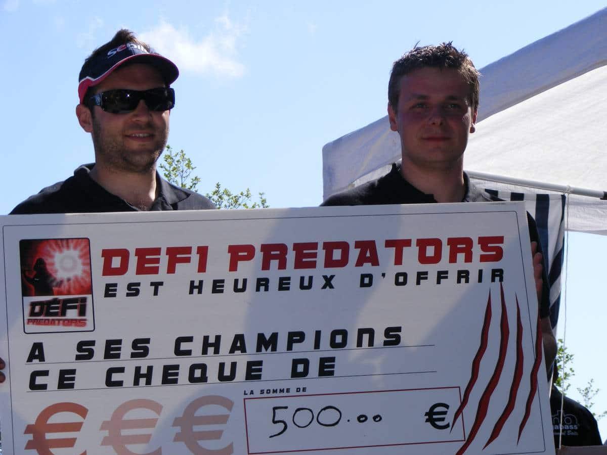 Victoire au one day one fish Predators du 8 mai 2011