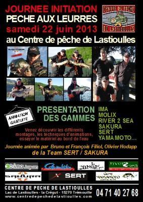 journée d'initiation à la pêche aux leurres et de découverte de la gamme SAKURA