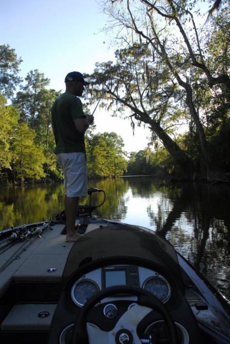 Post Tournament sur la rivière Calcasieu