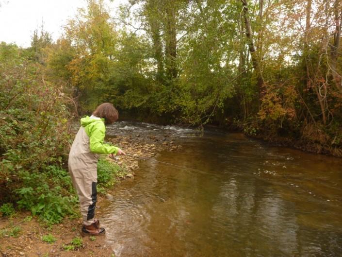En petite rivière ou ruisseau une Trinis Neo 6' ou 6'3 sera parfaite