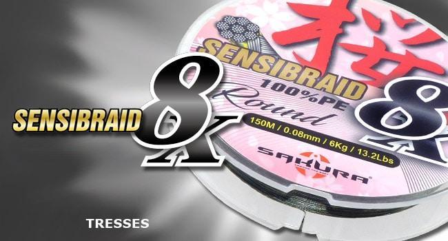 Tresses SENSIBRAID 8X