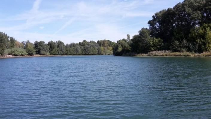 le lac de la session du jour