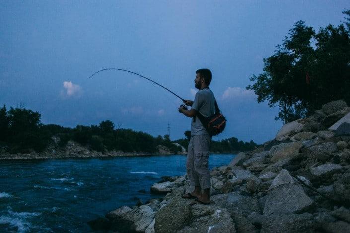 tanguy marlin peche riviere en croatie