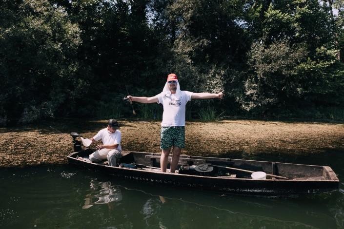 Marko et Goran sont sur un bateau