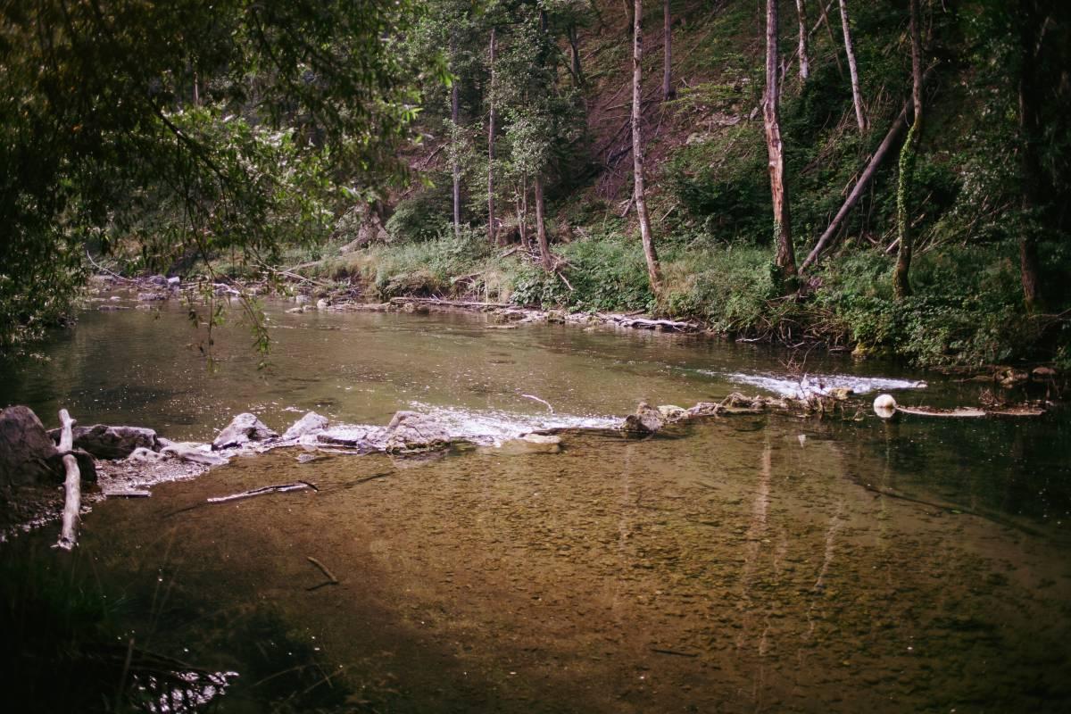 radier sur la riviere dobra en croatie SAKURAFishing
