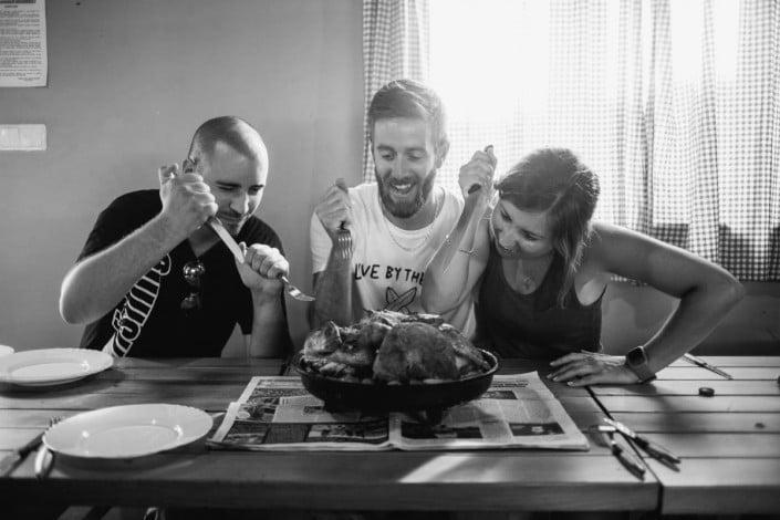 Dinner time in Croatia - Lokve