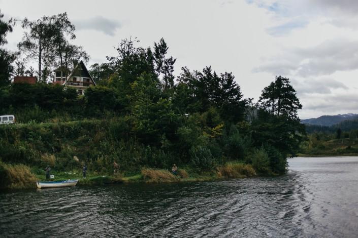 mrzlica lake in wind during SAKURA UL KUP