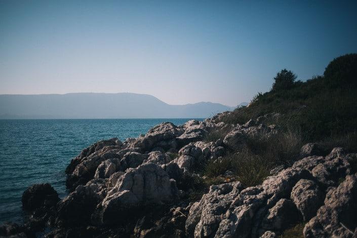 costal shore around Neretva river in Croatia