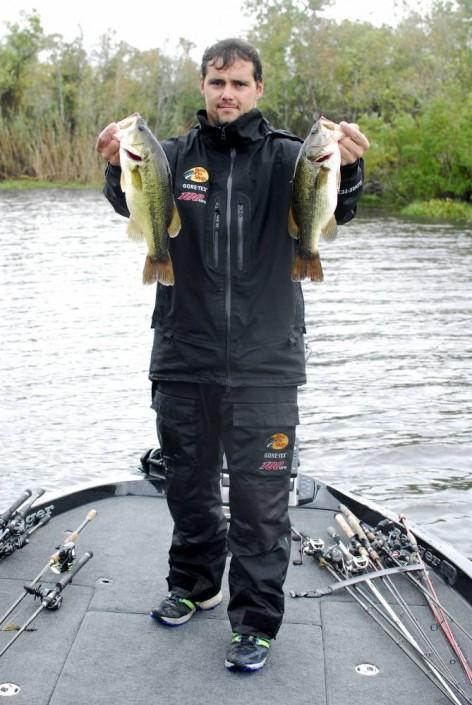 Des bass pas toujours faciles à localiser mais le succès est là !