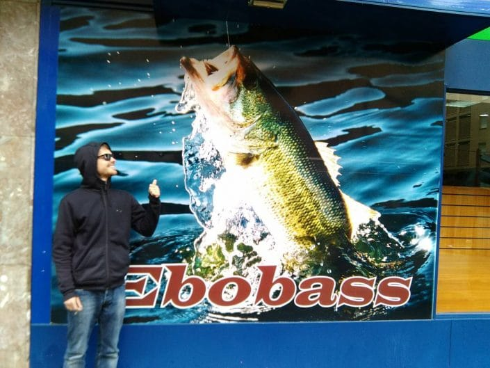 Ebobass tackle shop in spain