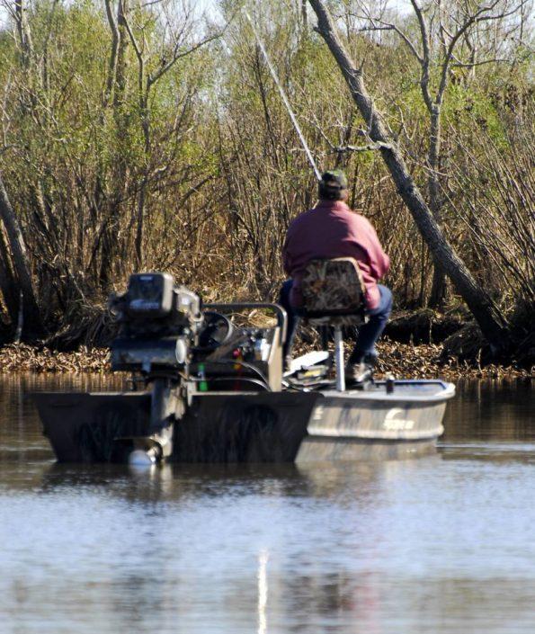 Prospection discrète sur le Louisiana Dleta