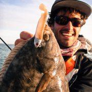 flounder au tex shad 80 sakura fishing