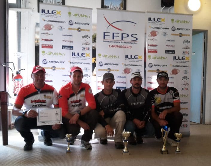 Podium FFPS Carnassiers Pro Elite