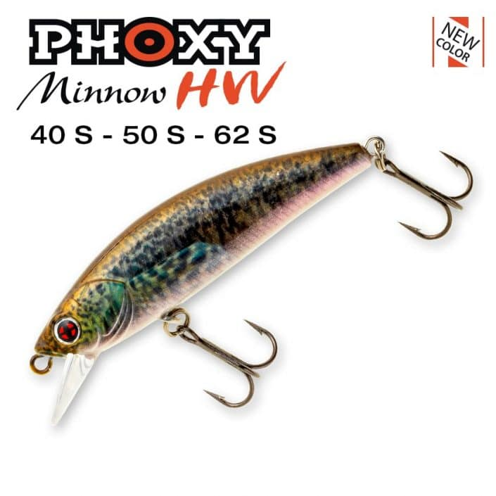 Phoxy Minnow HW 40S_50S_62S