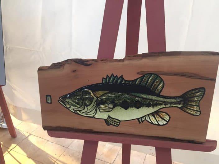Bass art by Peter Perch