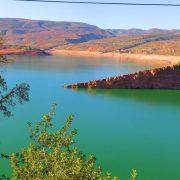 beau paysage de pêche au Maroc