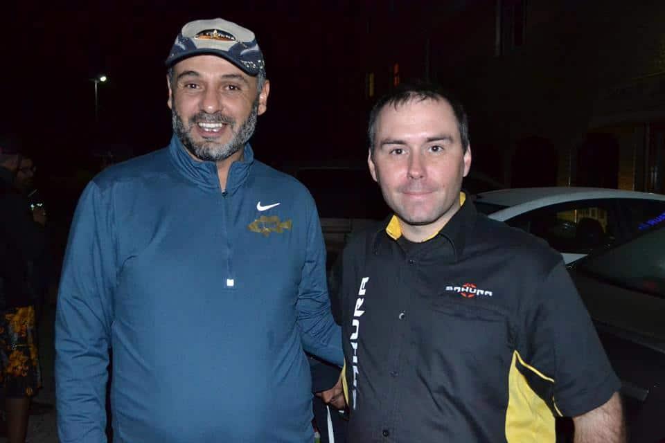 Chouaib Nahal Président de BBM et Laurent Petit