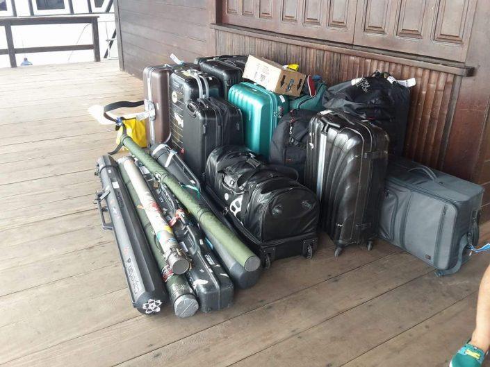 Un voyage qui commence bien c'est quand tous les bagages ont suivi sans encombres