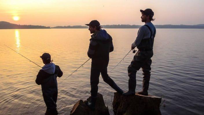 Fin de l'ouverture de la pêche a la truite