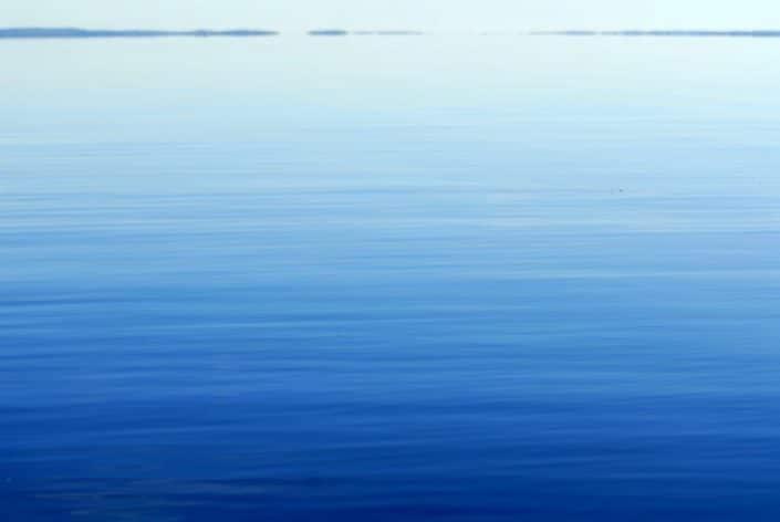 le lac de toledo bend lisse comme un miroir