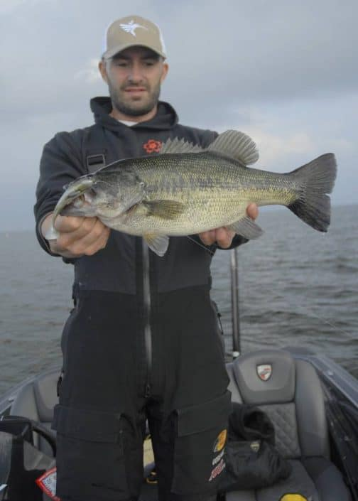 nice bass caught on toledo bend by jean christophe david