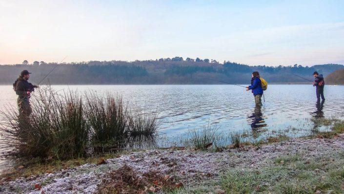 ouverture de la truite 2016 et petite gelée matinale