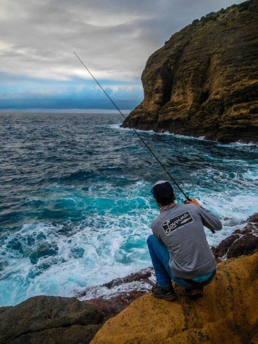 thomas gestin team sakura pêche du bord aux açores