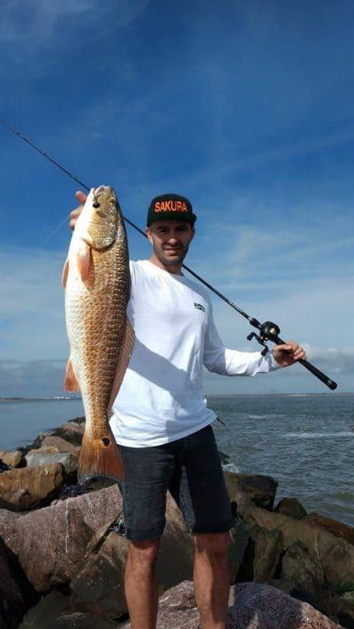 good redfish sakura fishing vertical