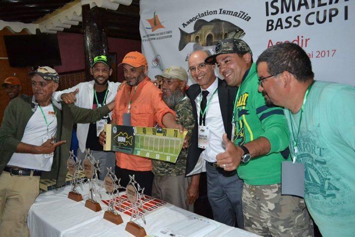 le comité organisateur de cette première manche de la Morocco Bass League