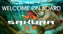 Ultimate Fishing Simulator X Sakura cooperation