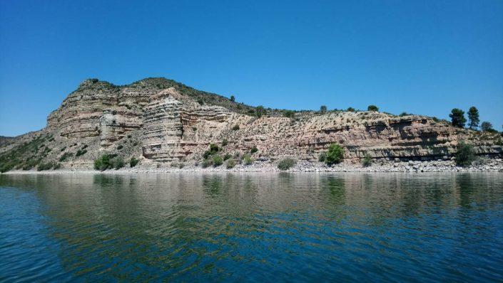 lac de mequinenza en espagne