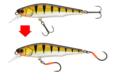 montage haeçons simples sur poissons nageur Sakura