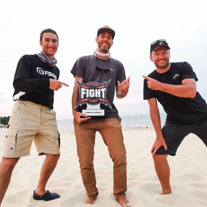 Podium du 1er FC Fight Perche