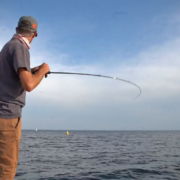 tanguy marlin en action durant le FC Fight Perche